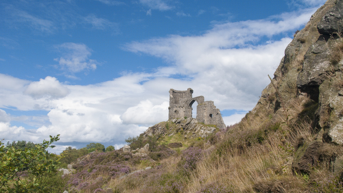 The area around the castle was nationally famous for the quarrying of high-quality millstones for use in water mills. Excavations at Mow Cop have found remains of quarrying  dating back to the Iron Age.