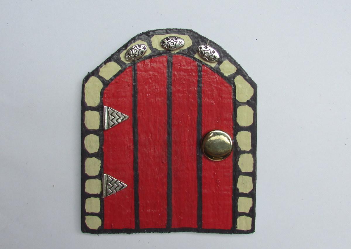 A Fairy Door for my tree house