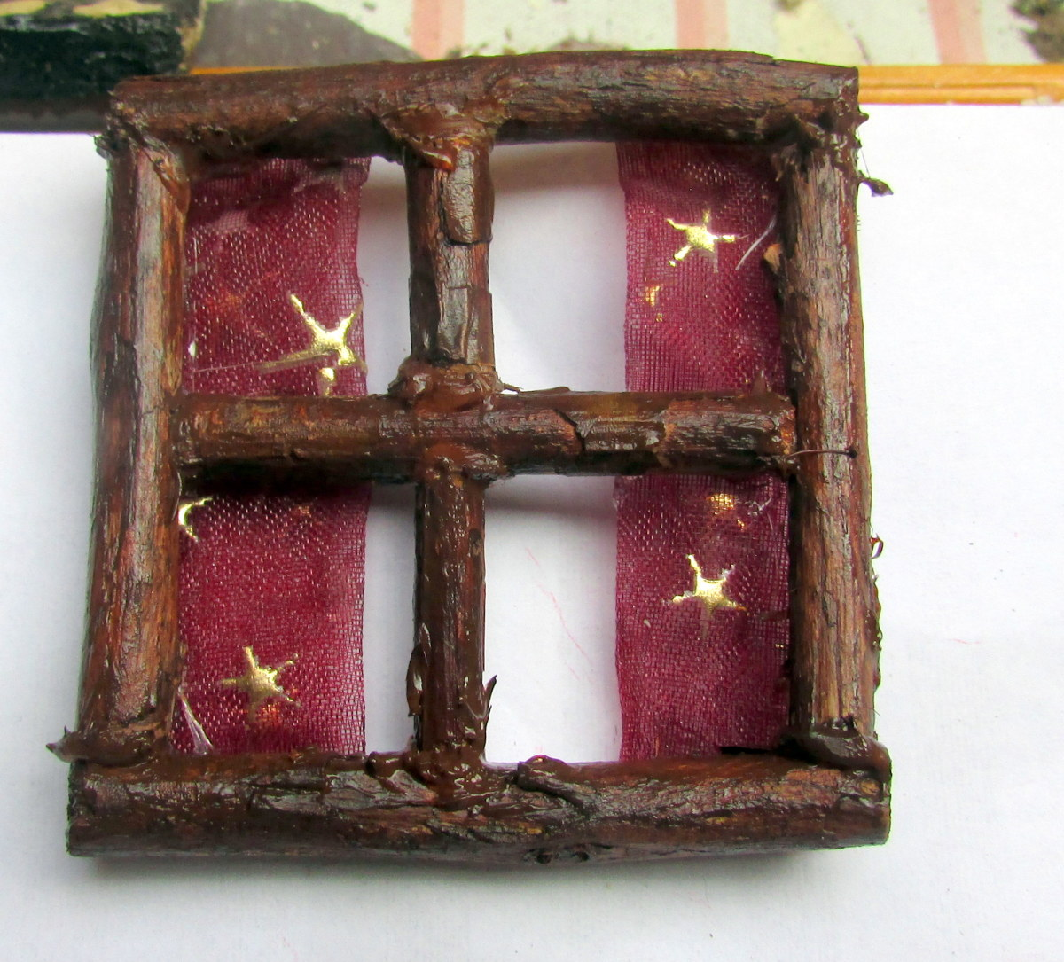 Learn how to make a window for a Fairy House