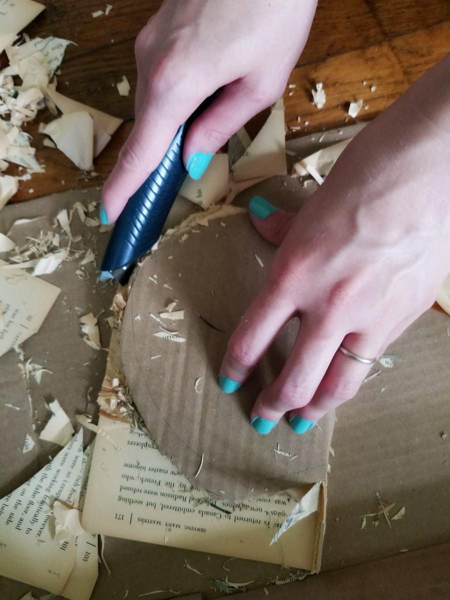 Cutting.
