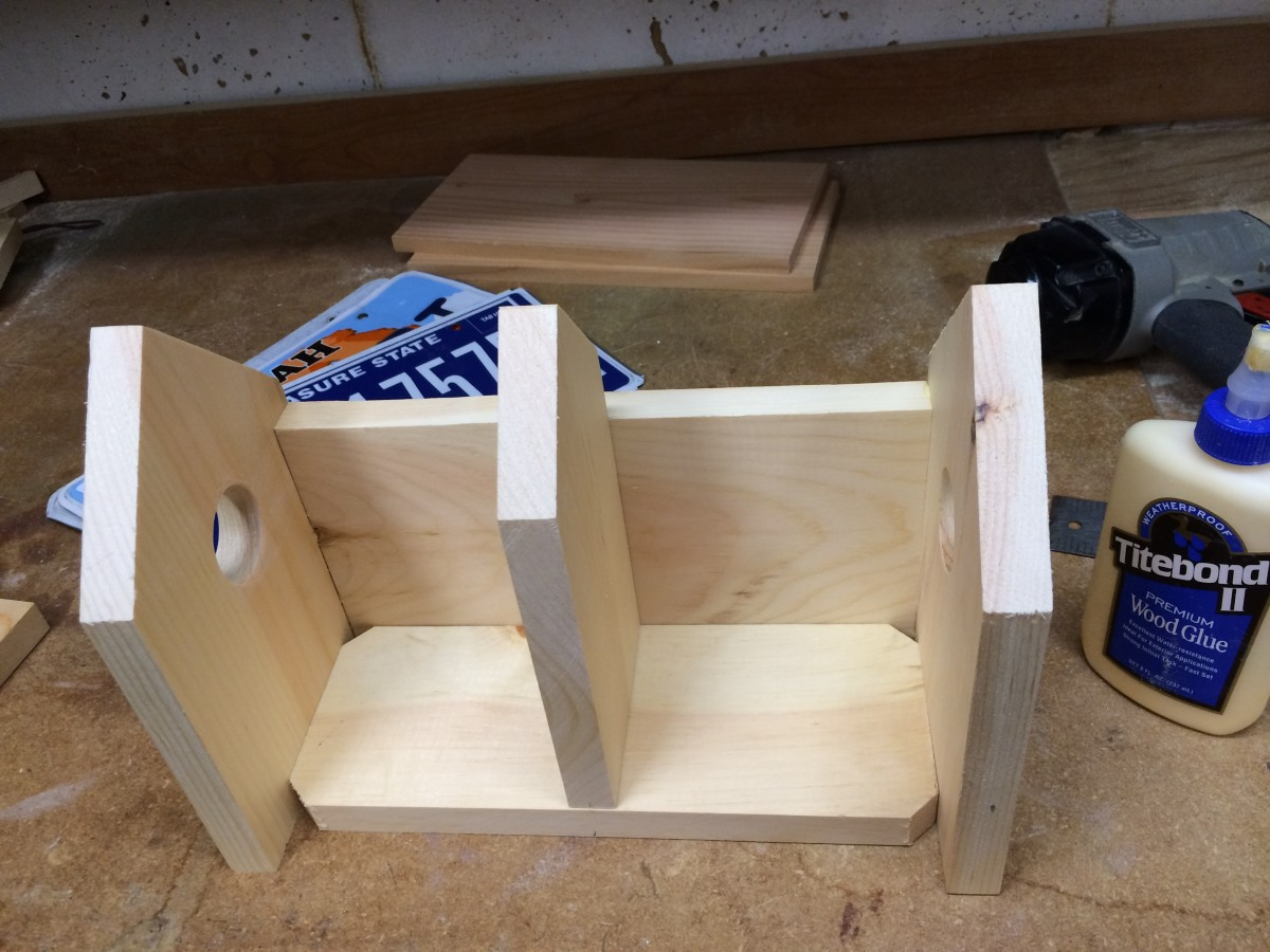 Basic joinery makes assembly easy