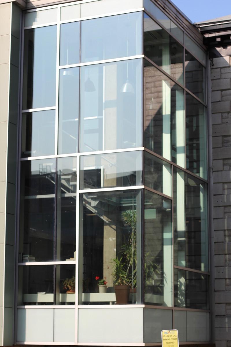 A small glass facade of GIDRU