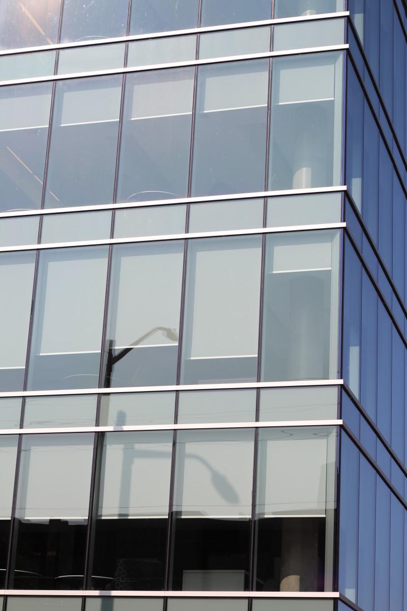 Glass Facade on David C. Smith House