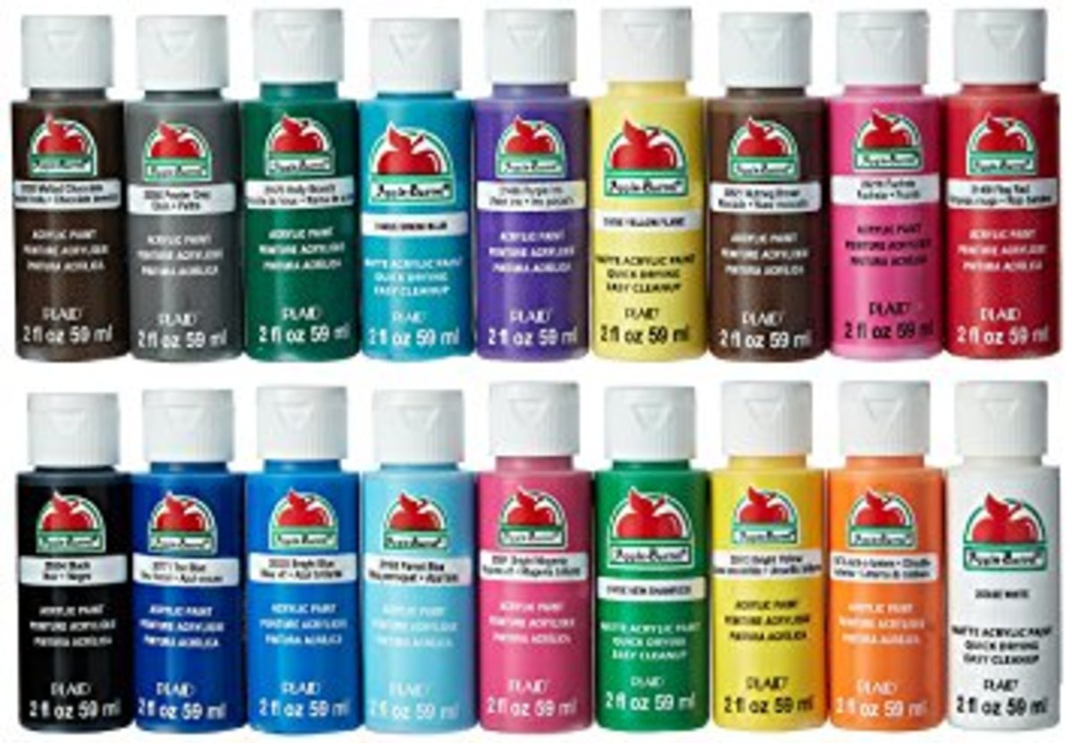 Acrylic paints are best to use when painting rocks, but you can also use paint markers, and metallic markers.  I personally use all 3!