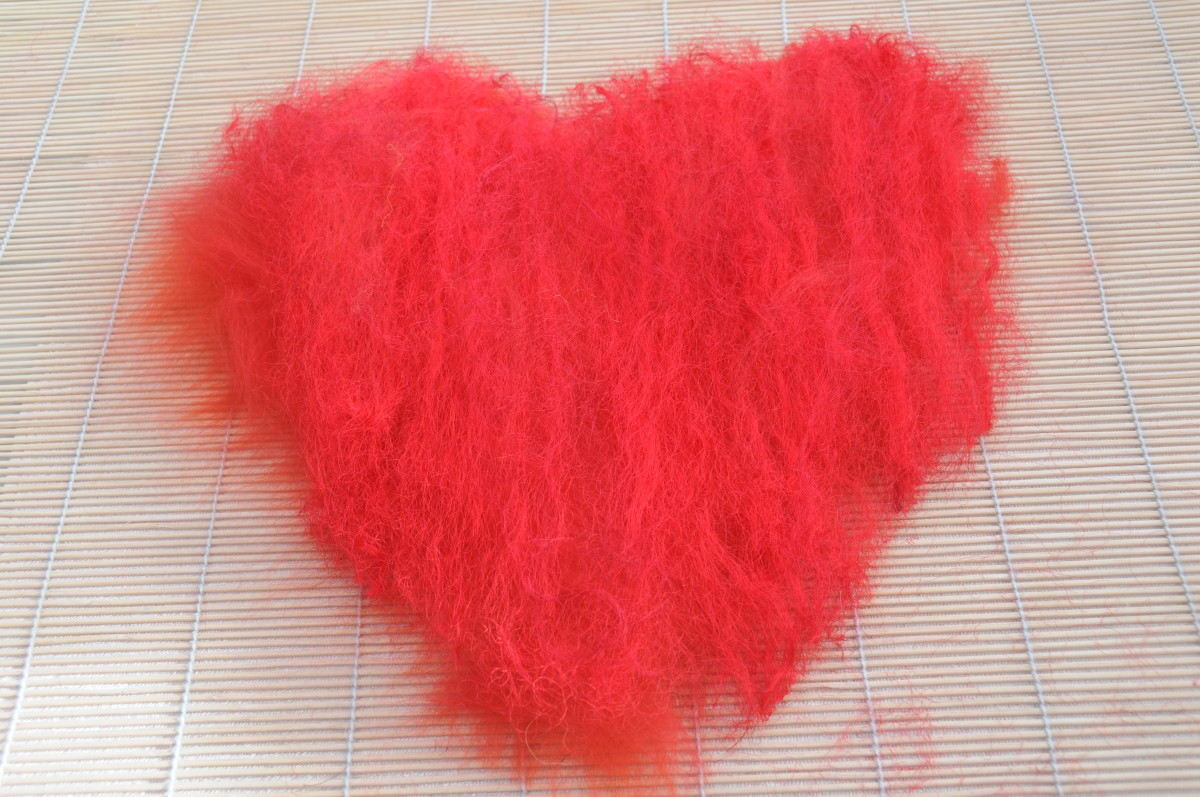 The wool covered heart