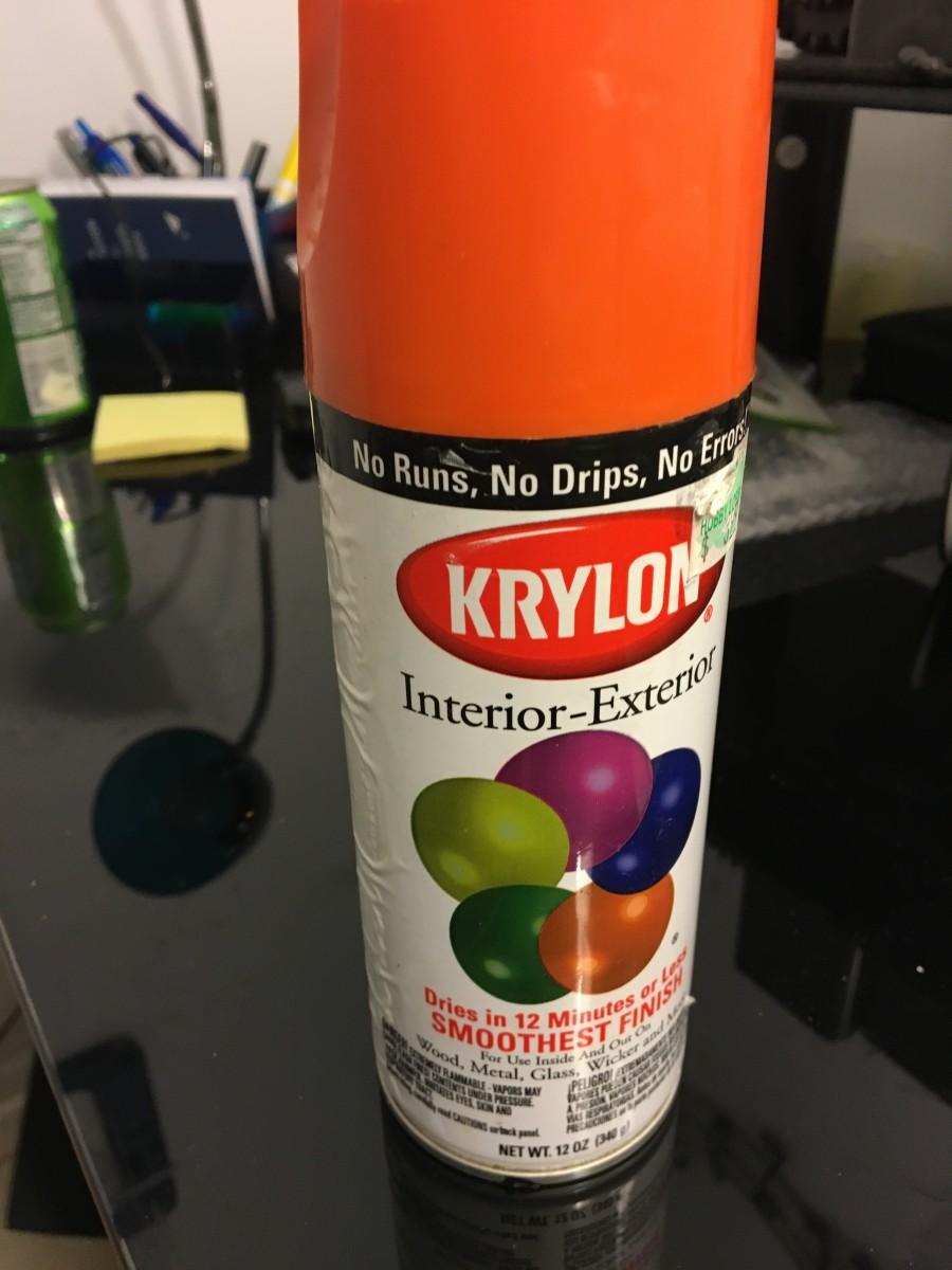 Krylon Spray pre 2006 Acrylic Lacquer paint