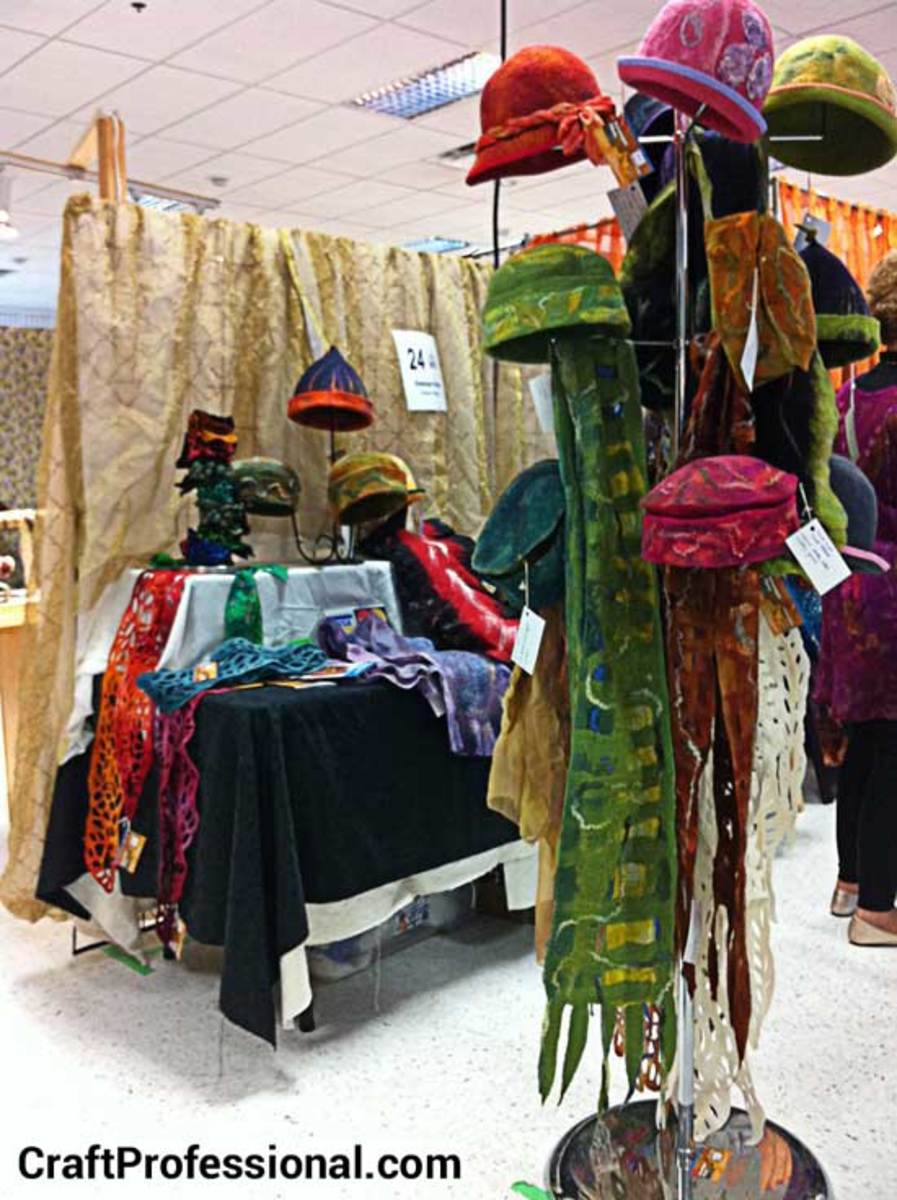 Make Money Selling Knit And Crochet Crafts At Craft Fairs Feltmagnet