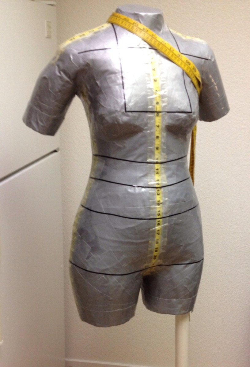Duct Tape Body Form | Pinterest. My duct tape dress form top with legs, arms, neck. Wear a T .