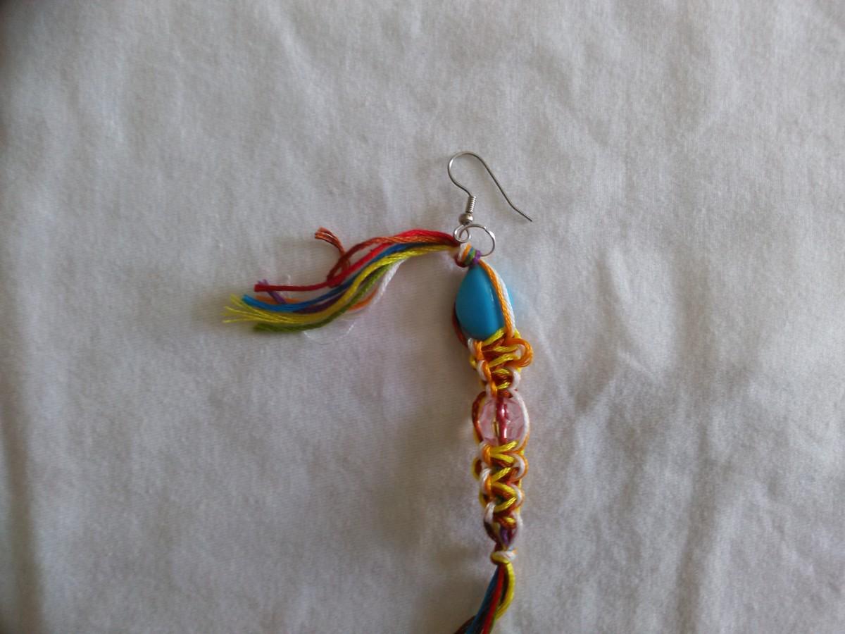 Step 15 - Adding the Earring hoop