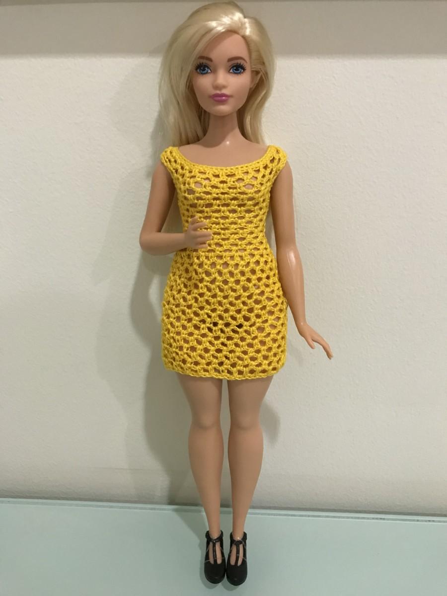 Curvy Barbie Scoop Neckline Bodycon Dress