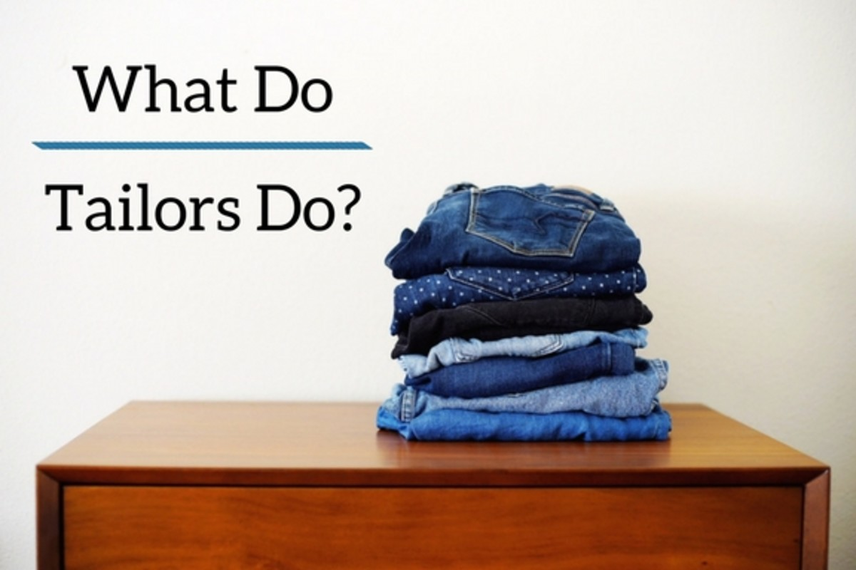 What do tailors do?