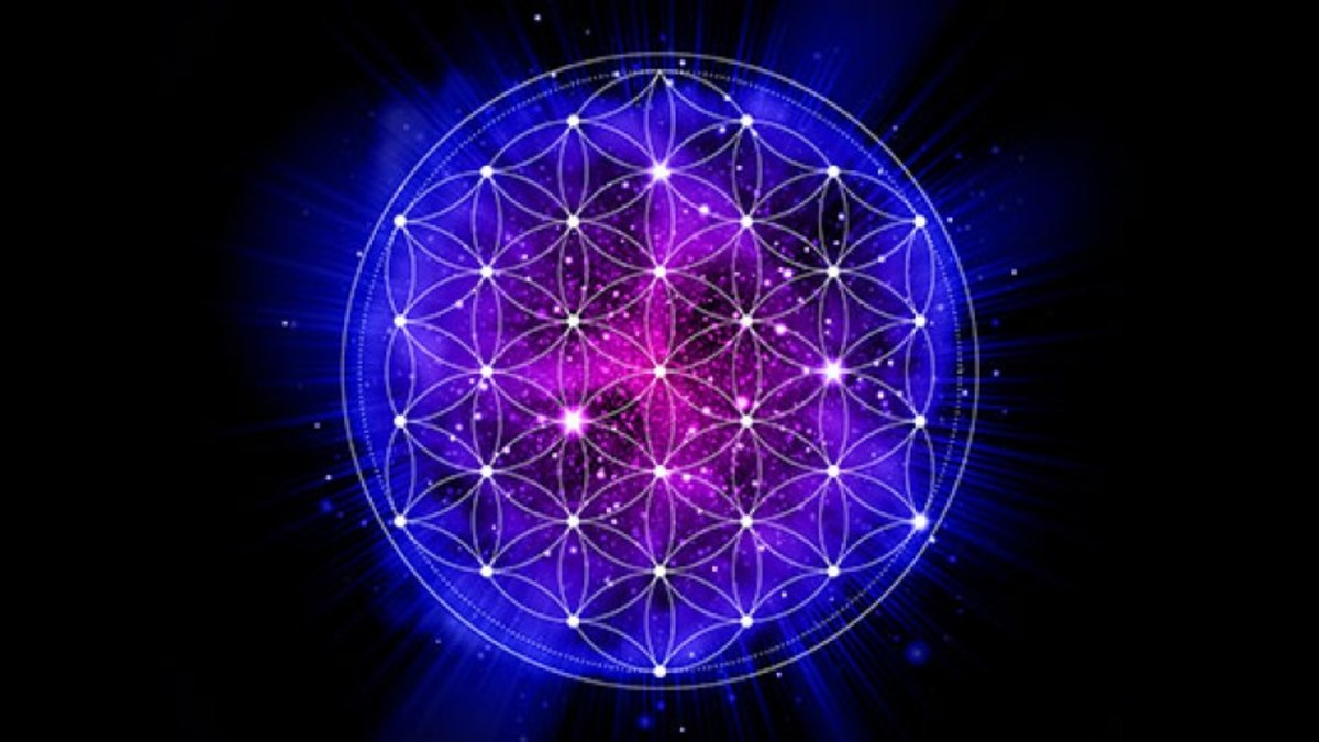 Sacred Geometry - The Flower of Life - blueprints to the universe