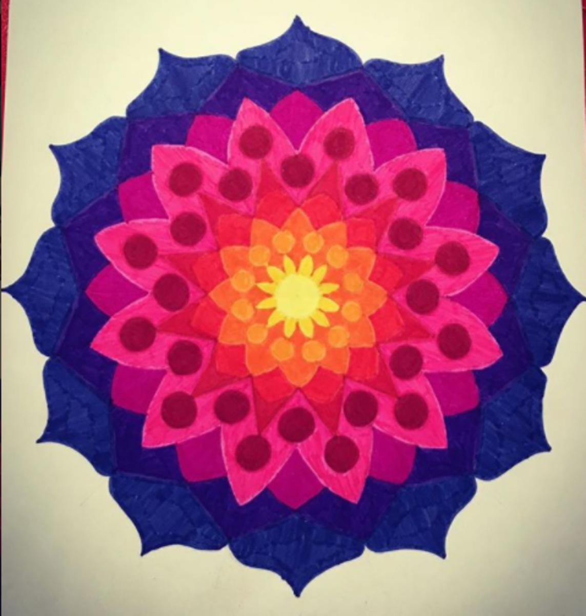 A Simple Mandala