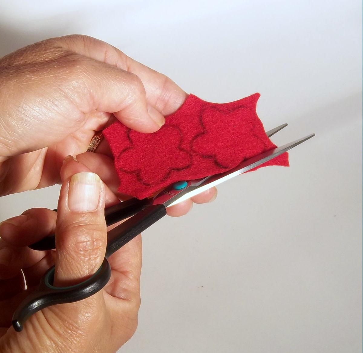 Cutting the petals