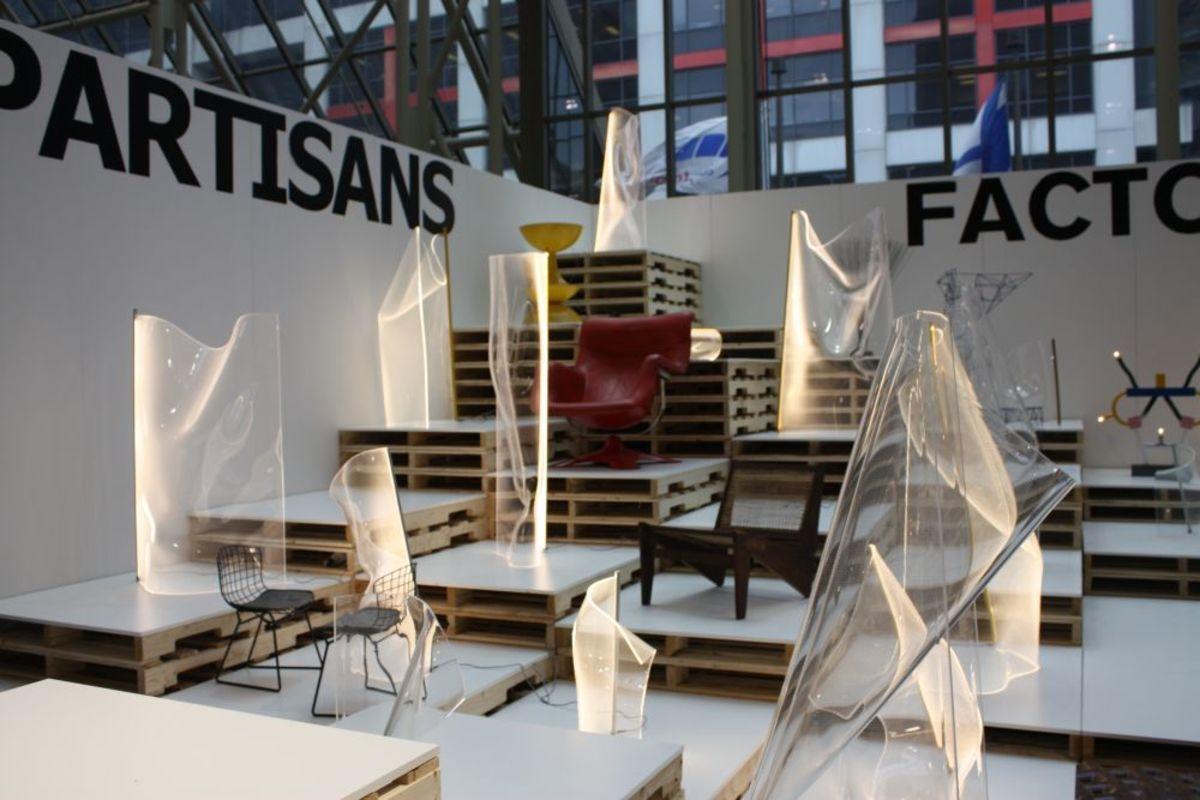Acrylic Light Sculptures in Partisans Factory in Toronto Ontario
