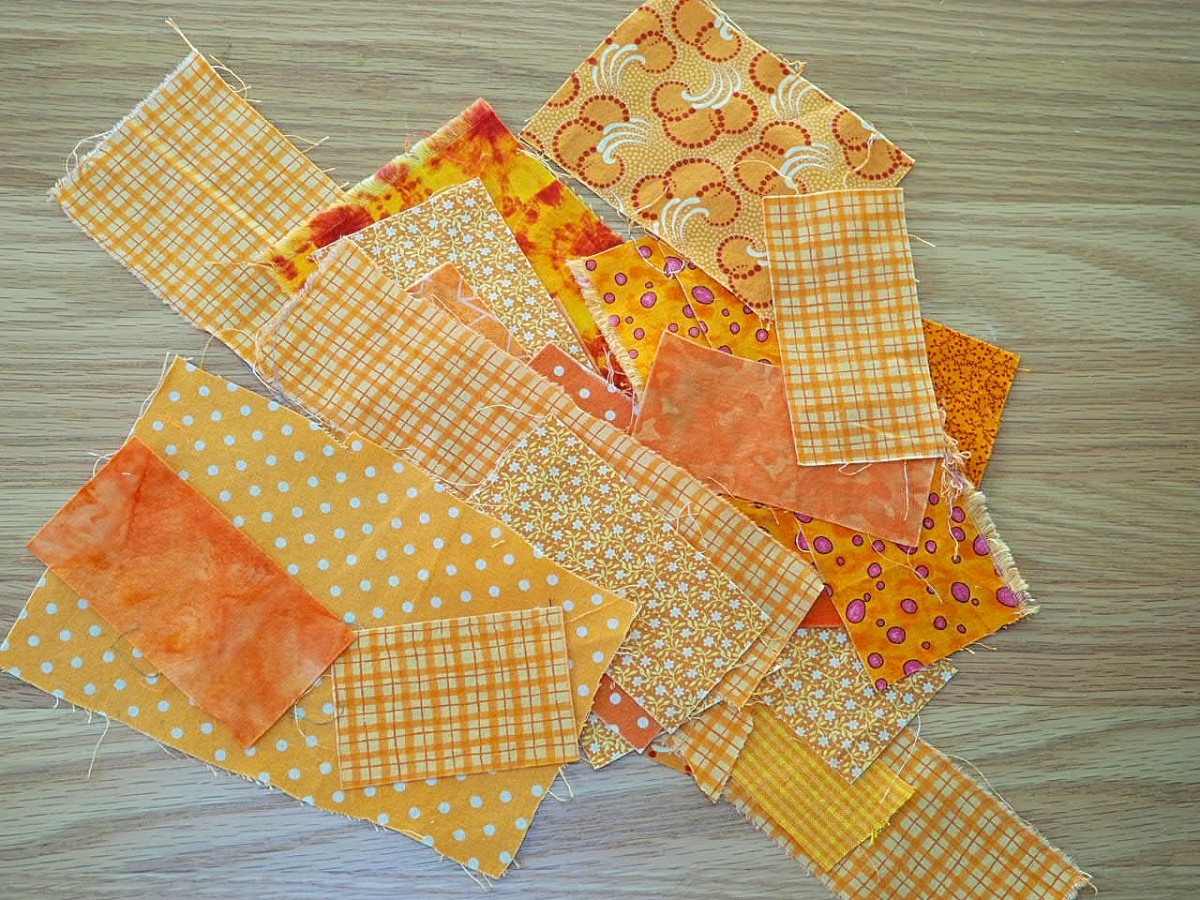 Step 3: Prepare the Fabric Scraps