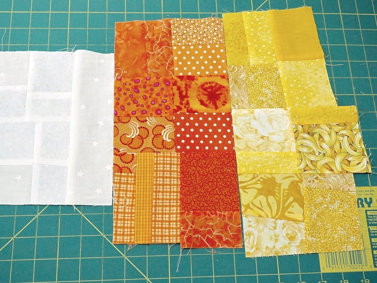 Step 8: Sew Sections Together