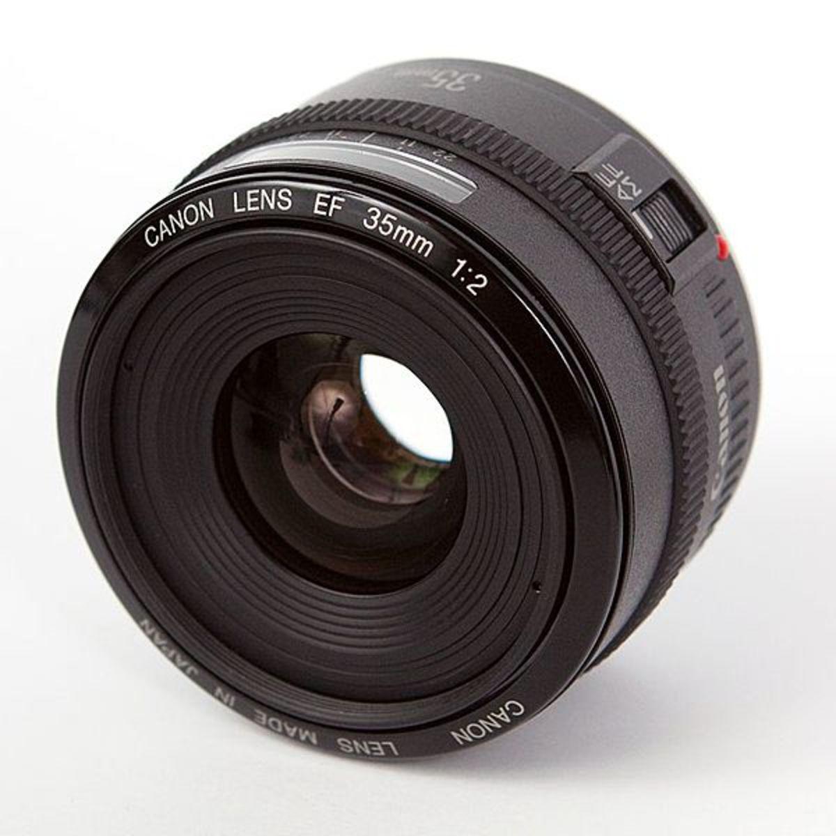 Canon 35mm EF lens