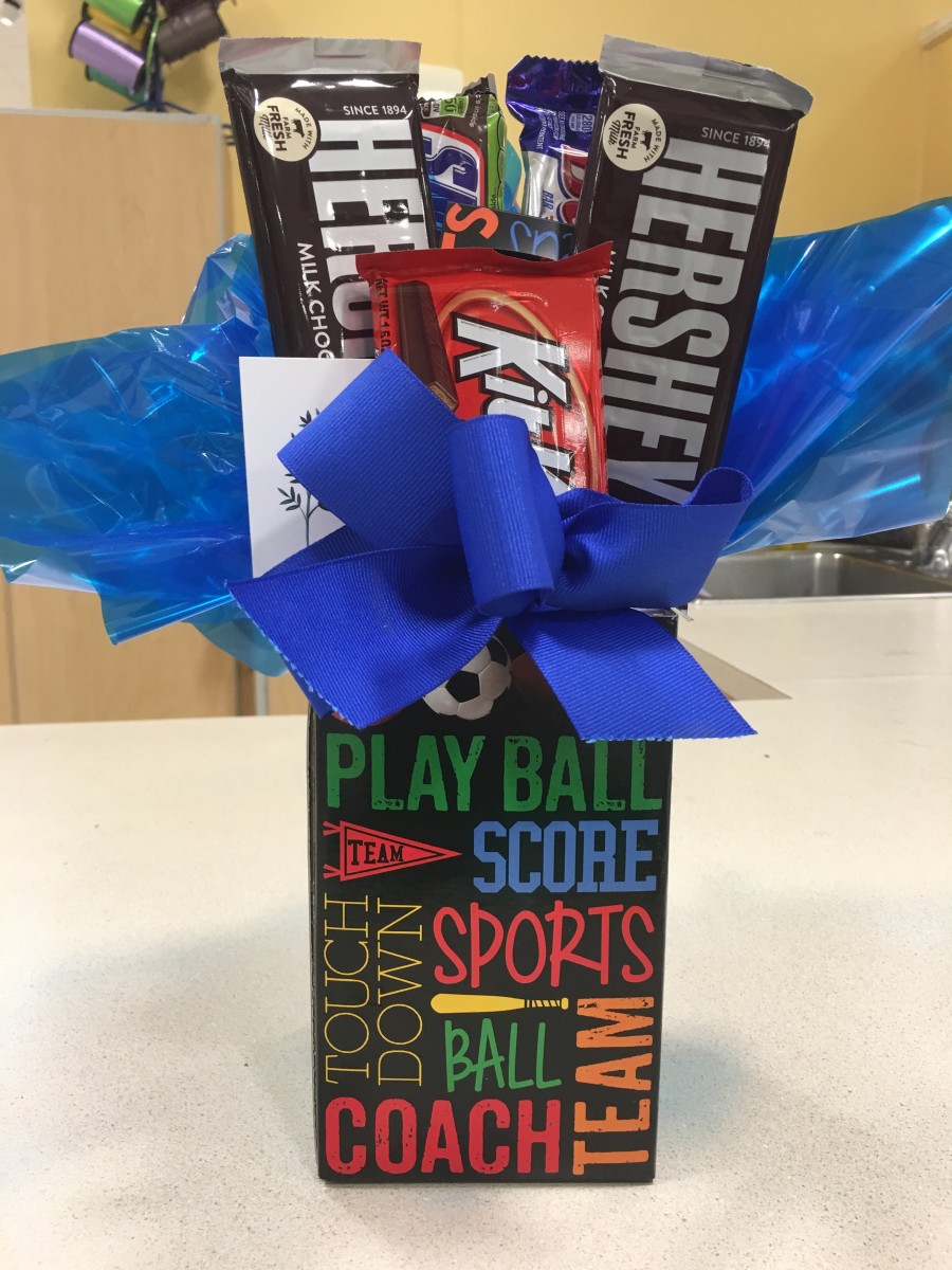 Candy bouquets make a great gift for anyone with a sweet tooth.