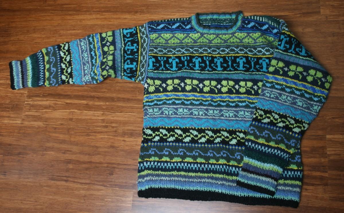 Knit Fair Isle Sweater