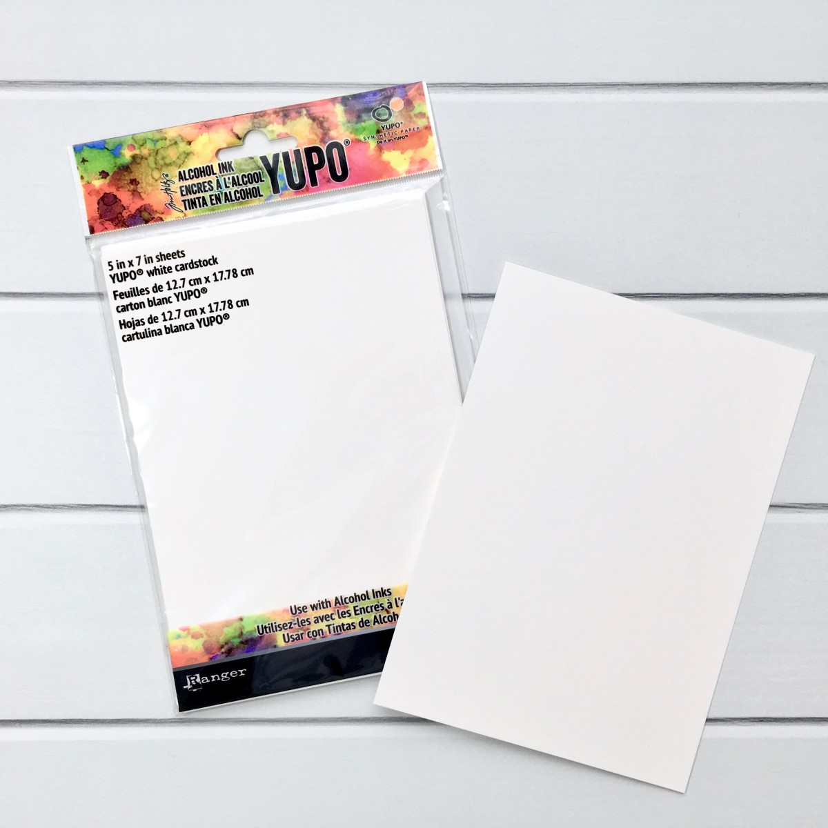 Tim Holtz Yupo Paper