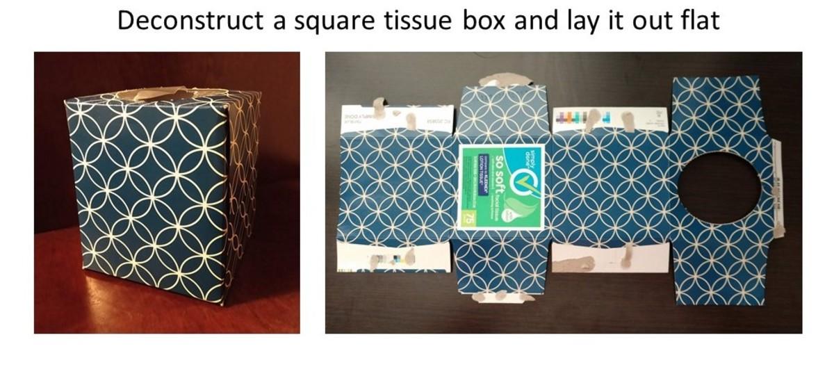 Deconstruct a Tissue Box