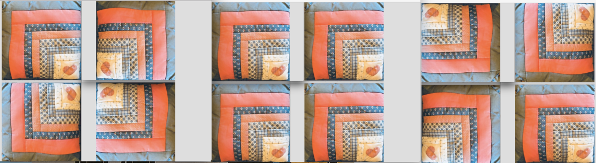 How To Make A Log Cabin Square For A Pillow Or Quilt Block Feltmagnet Crafts