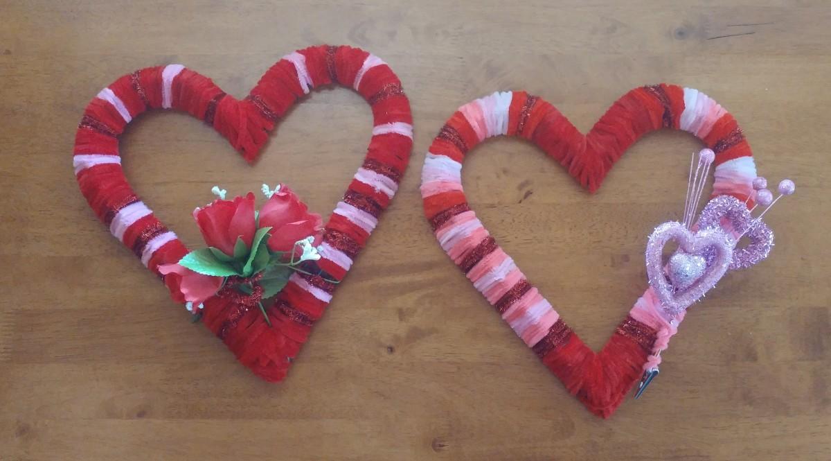 Valentine's Day Wreaths!