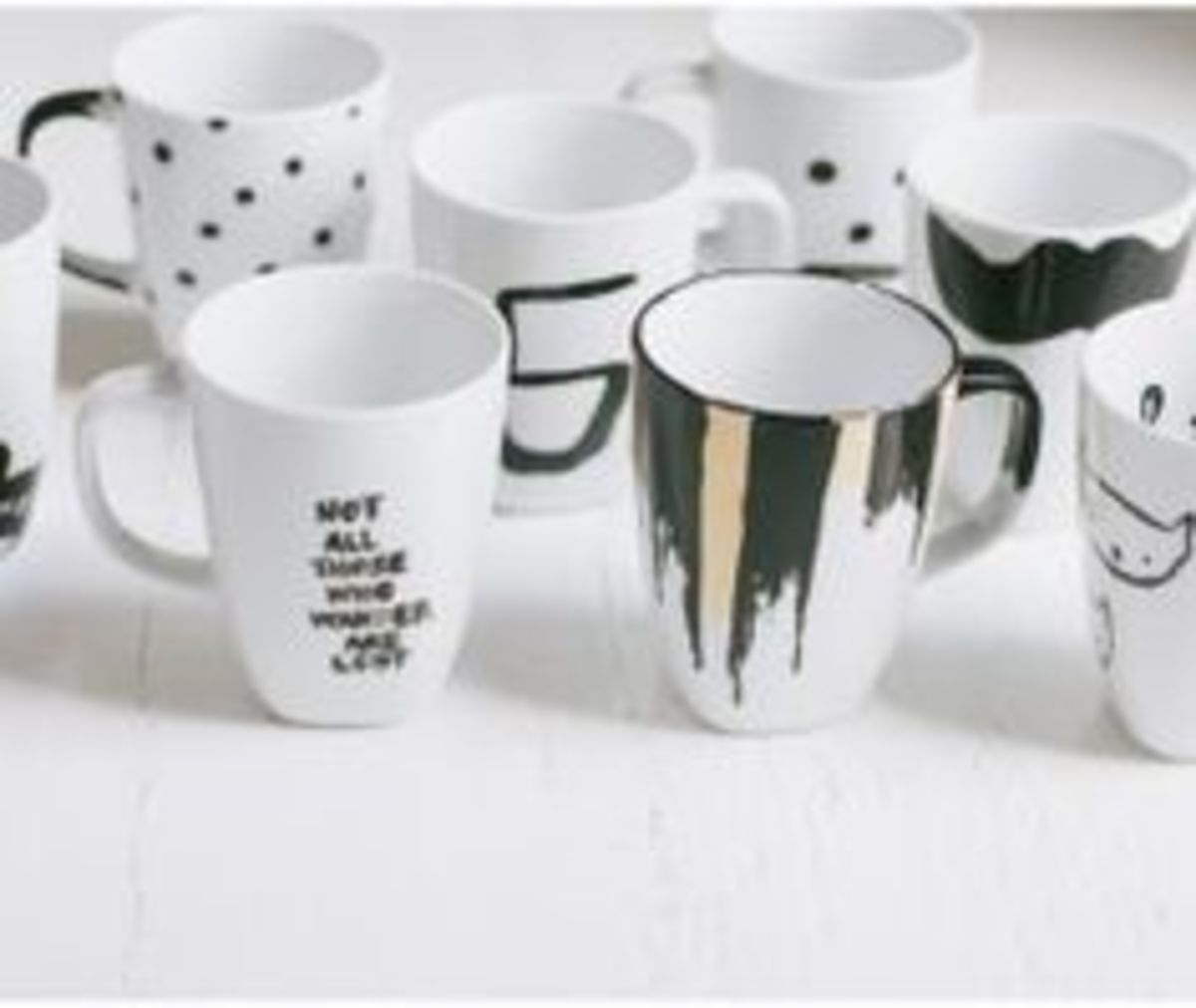 The possibilities are truly endless when you are designing your own coffee mugs!