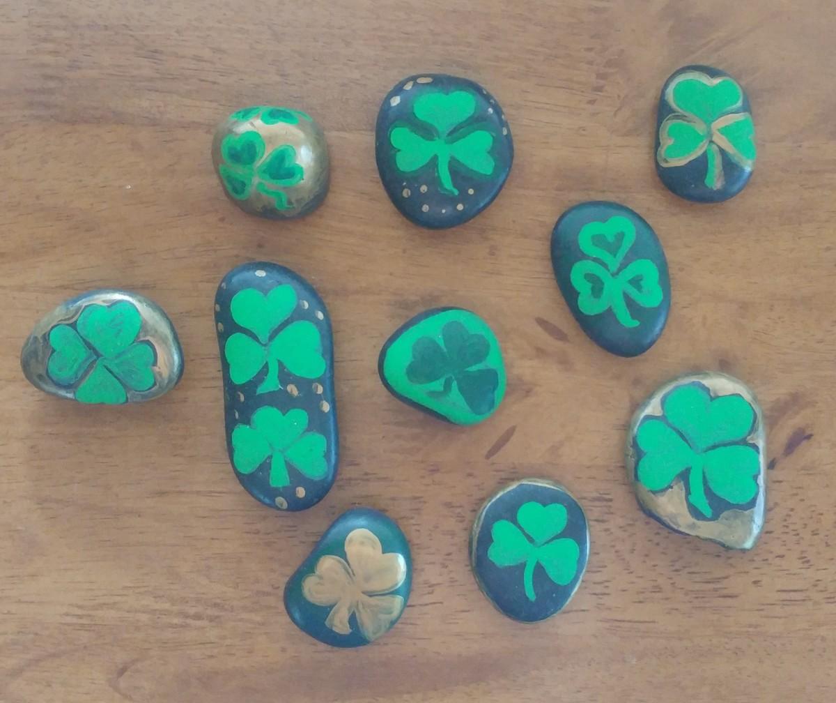 Shamrock stones!