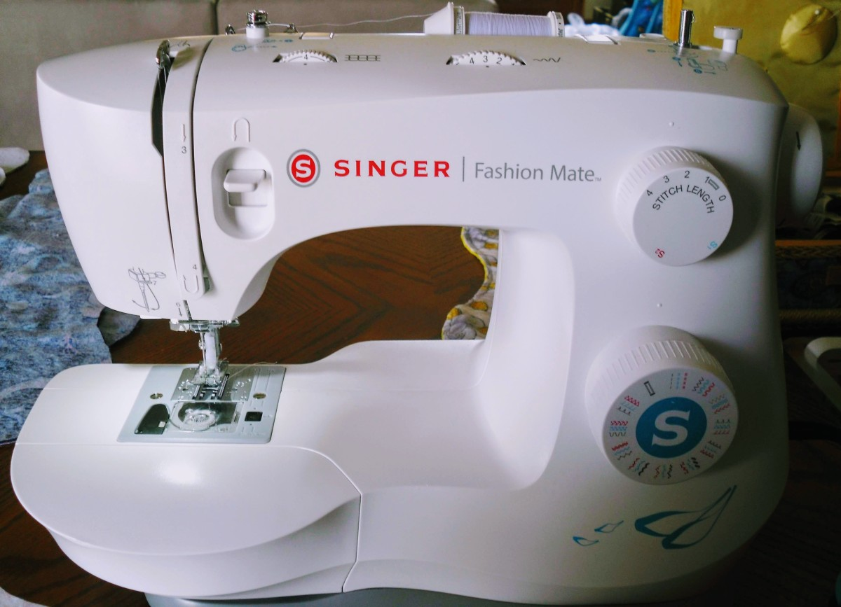 Black Friday is a great time to purchase a sewing machine. Last year the super fancy machines were hundreds of dollars off! I love my Singer Fashion Mate.