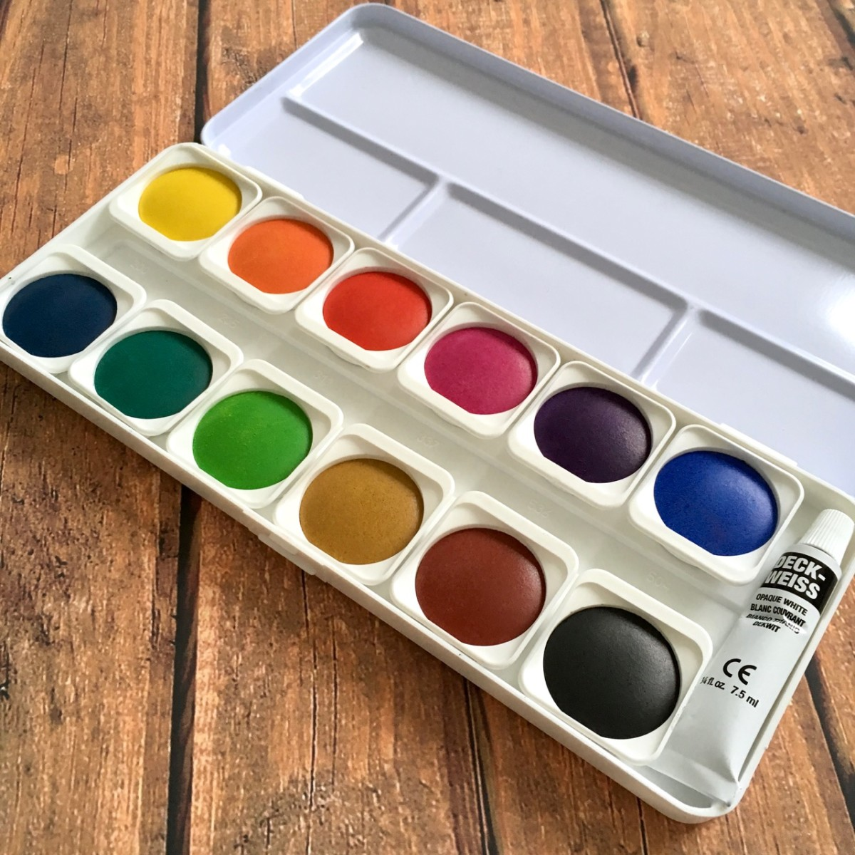 Transparent Watercolor Set
