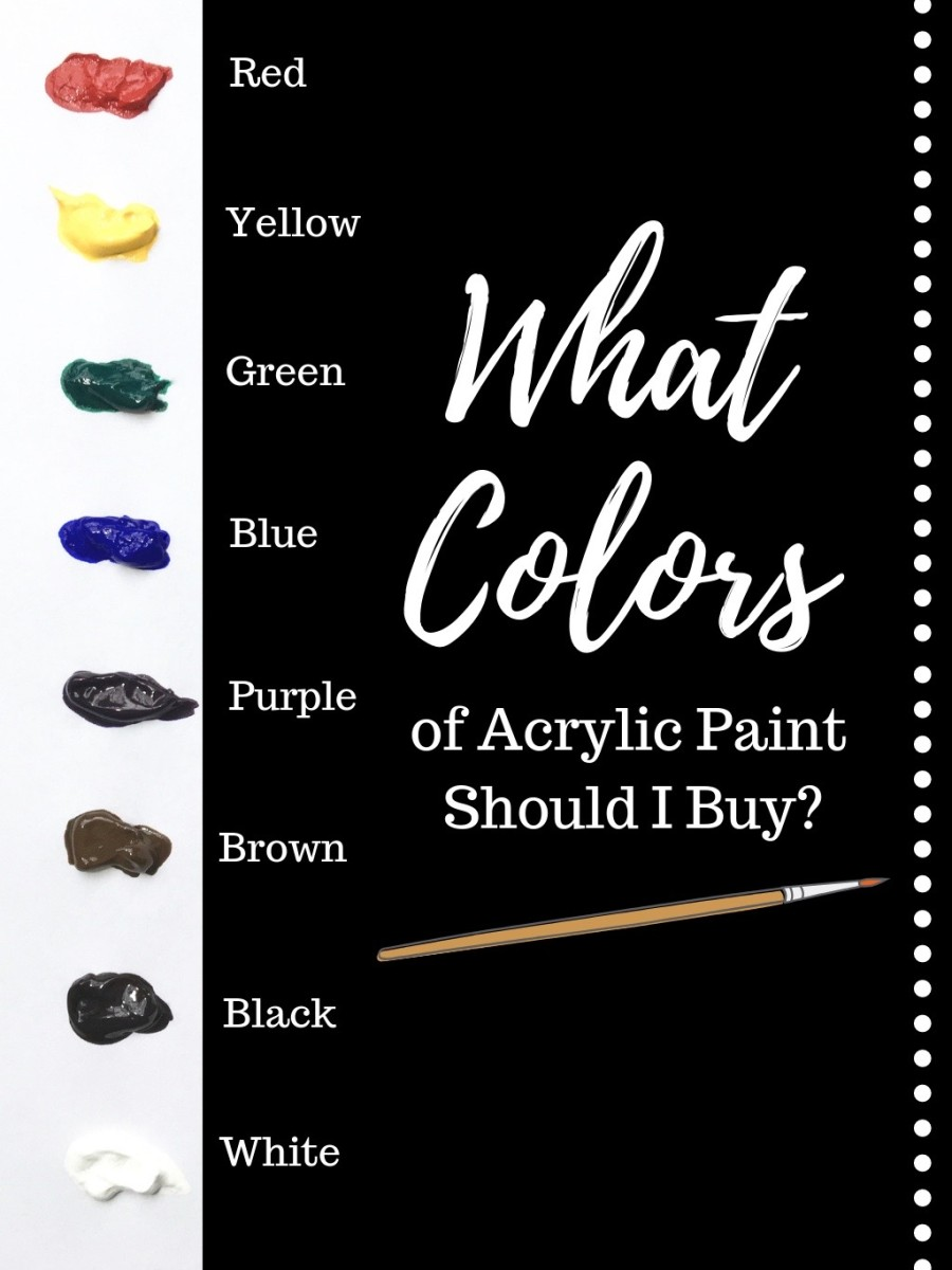 Acrylic Paint Colors