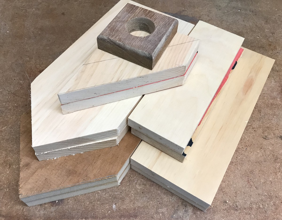The Cutting List: a mix of new and reclaimed wood