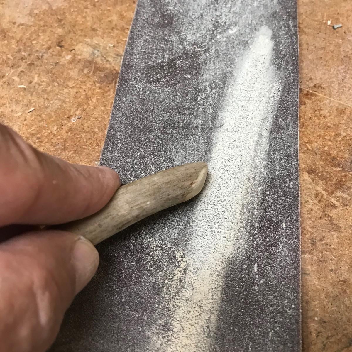 Fine sanding