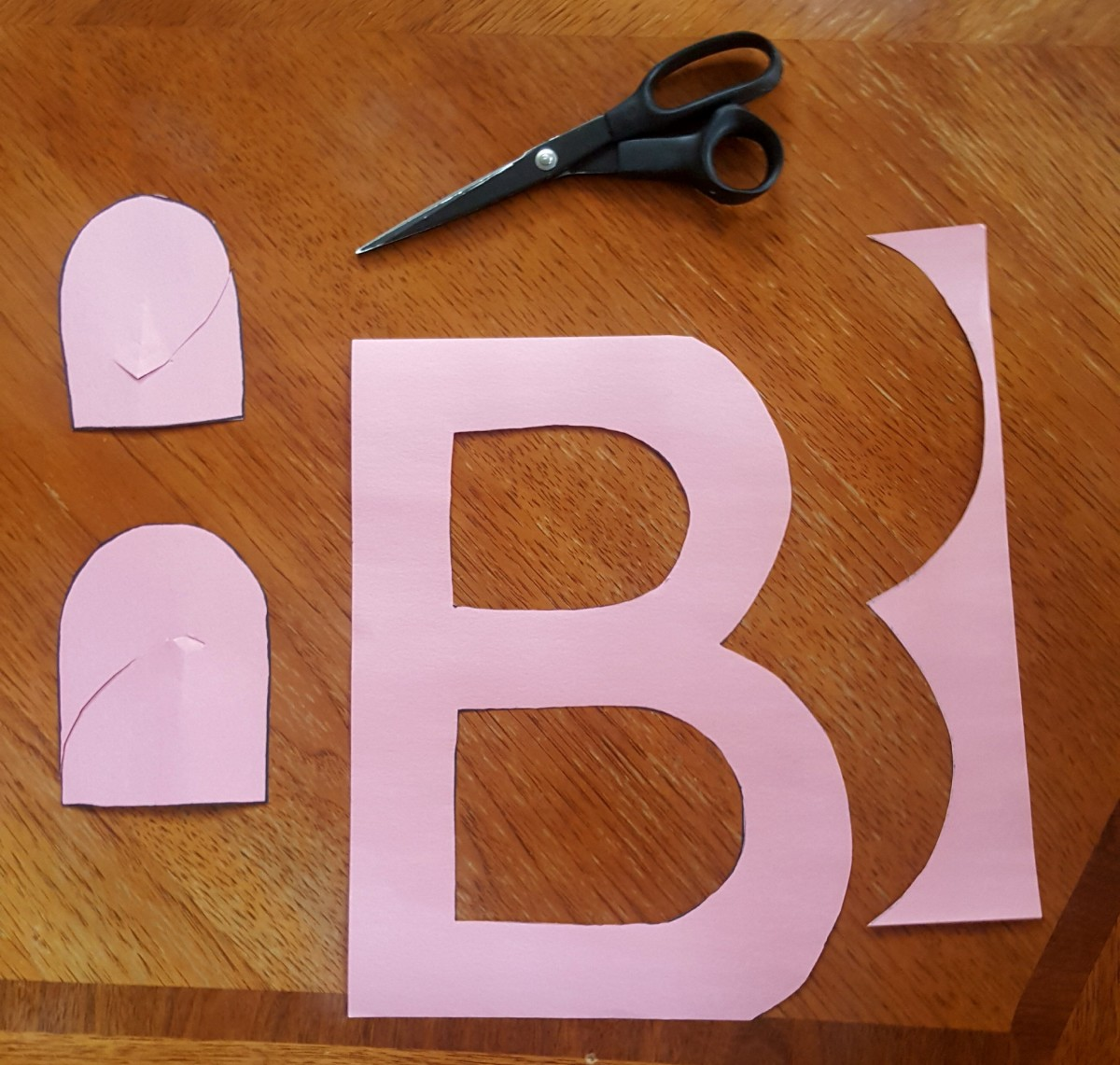 "Finished ""B"" Cut Out"
