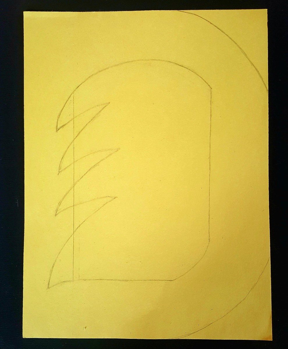 """Draw the Letter """"D"""""""