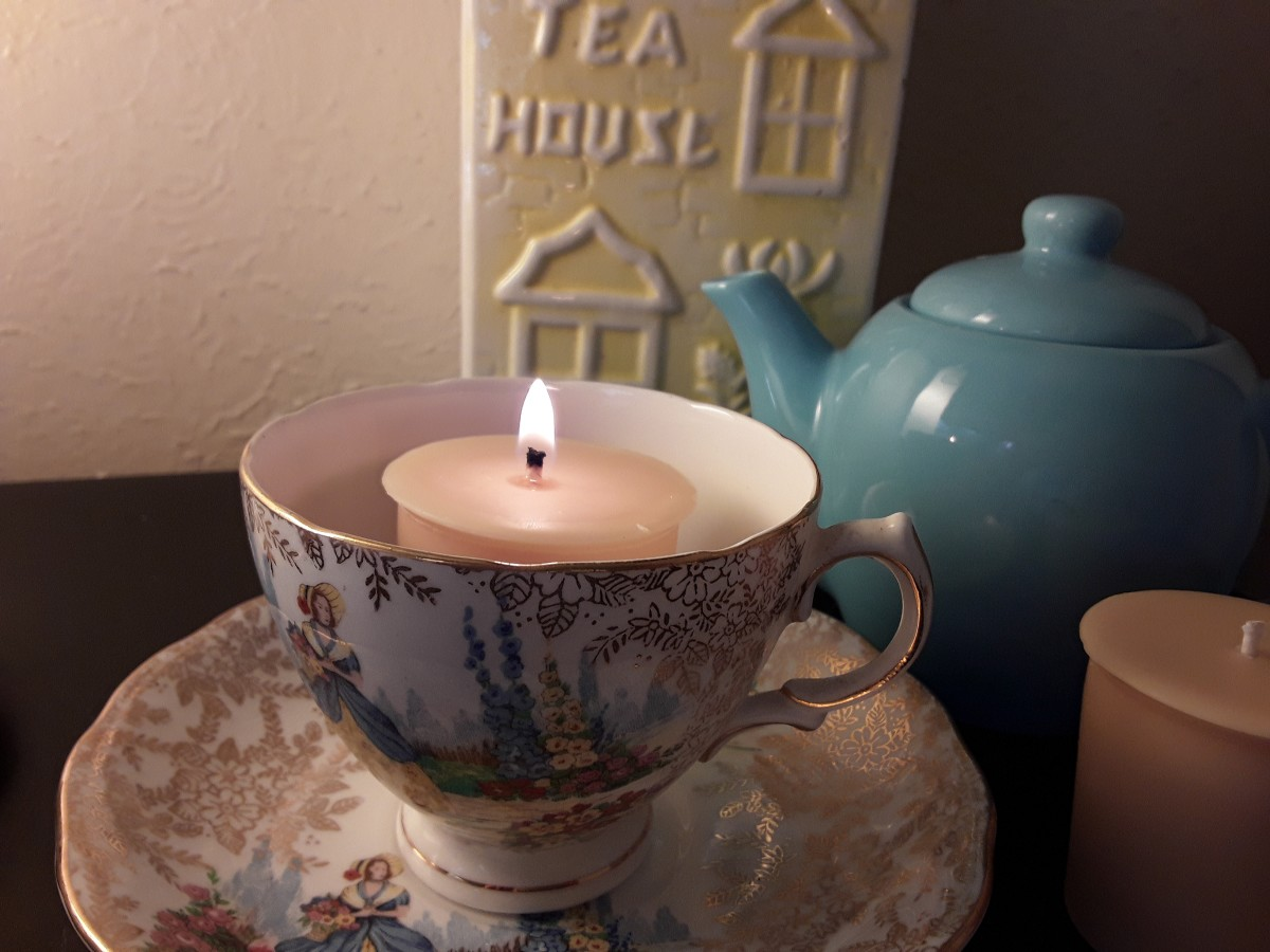 Enjoy your unique hand-poured candle