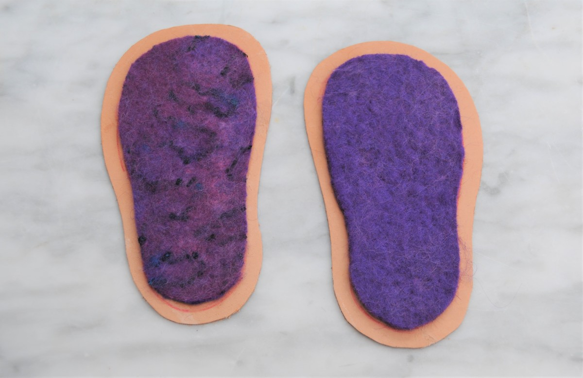 how-to-make-wet-felted-boots-with-leather-soles