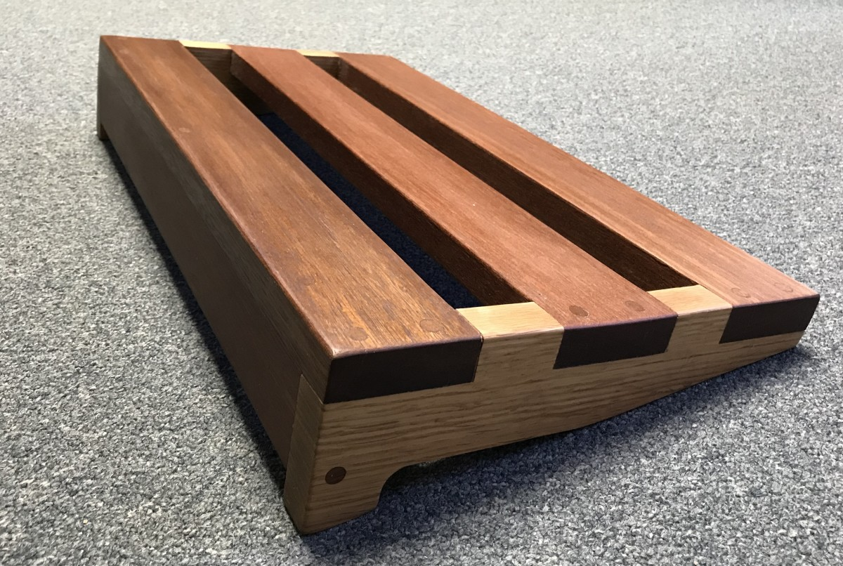 Simple yet effective joinery creates a sturdy base