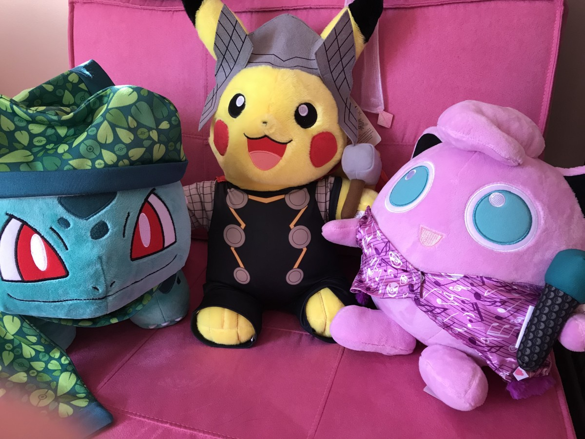 Even Build-a-Bear Workshops knows that Pokemon love fashion!