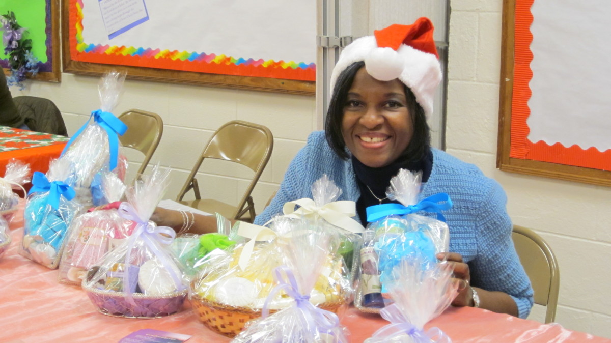 The author enjoys making gift baskets for charity, for a little profit and for creative fun.