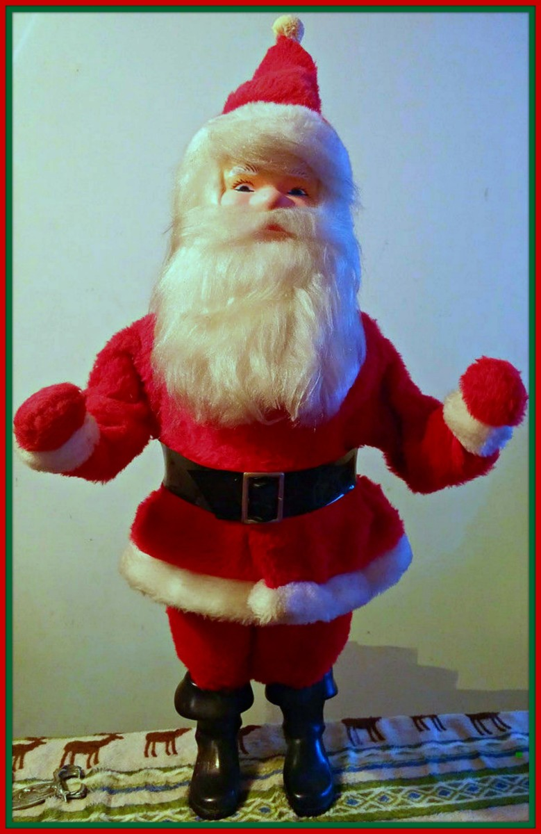 Harold Gale began making Display Santa's around 1946 at his home. The business continued to around 1987 - 1988. He made the Holidays much more festive with his wonderful window displays back in the golden age of the 1950s and 1960s.