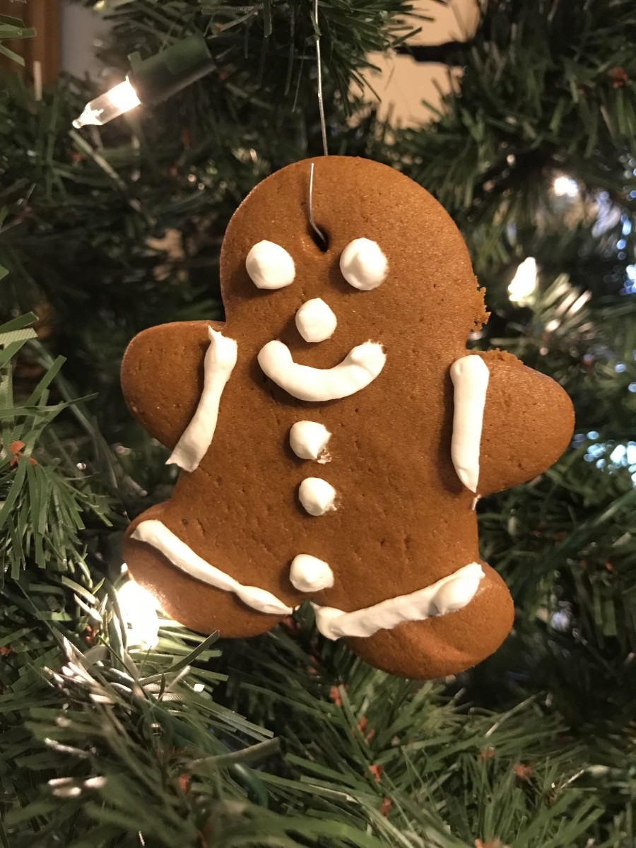 How to Make Super Cute, Fun, Edible Gingerbread Cookie Ornaments