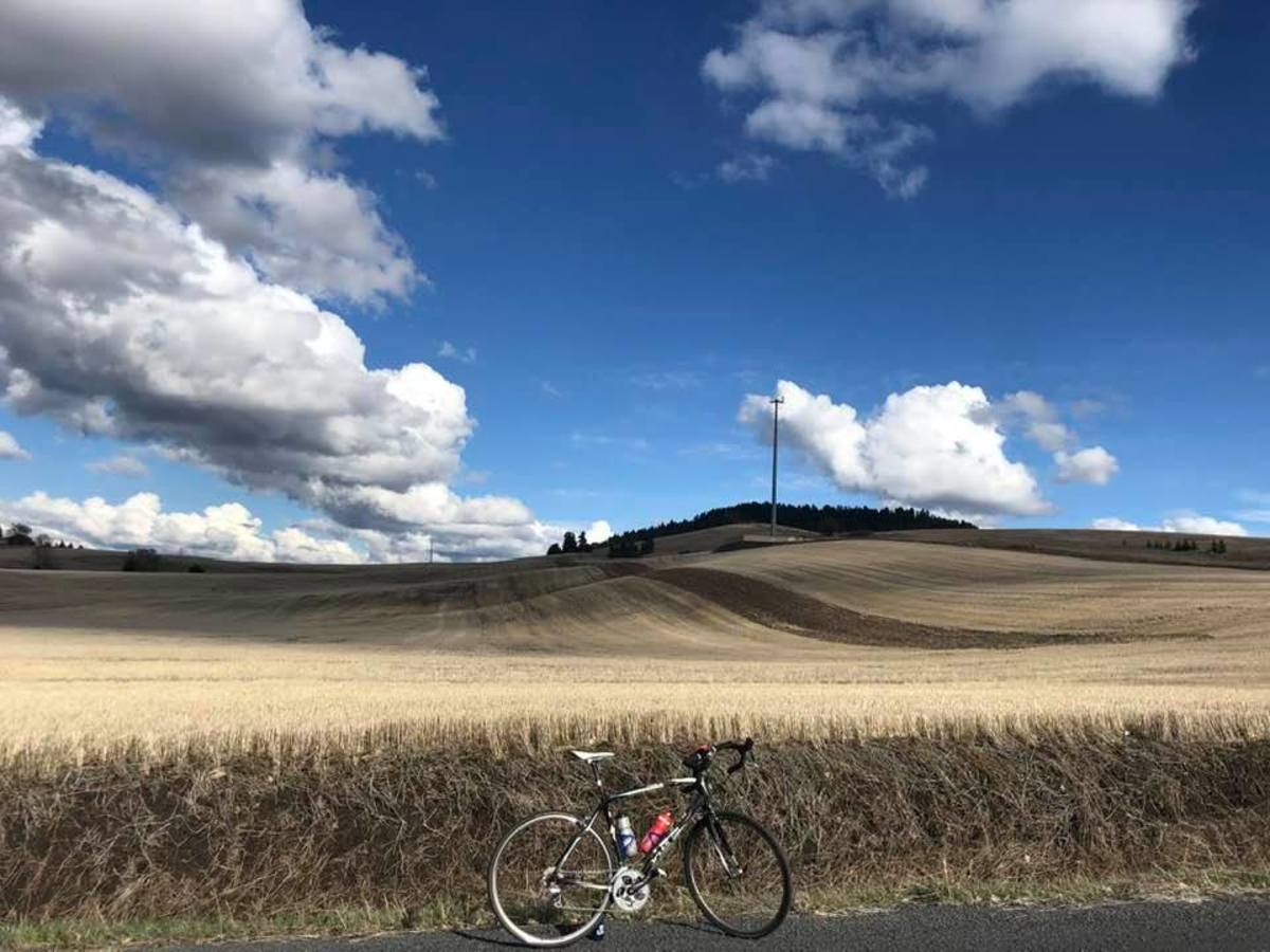 The Palouse is a Beautiful Place to Ride