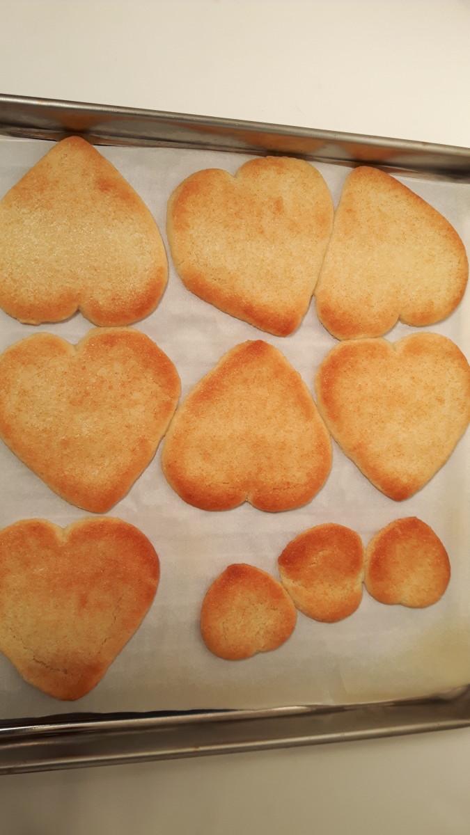 Baked sugar cookies!