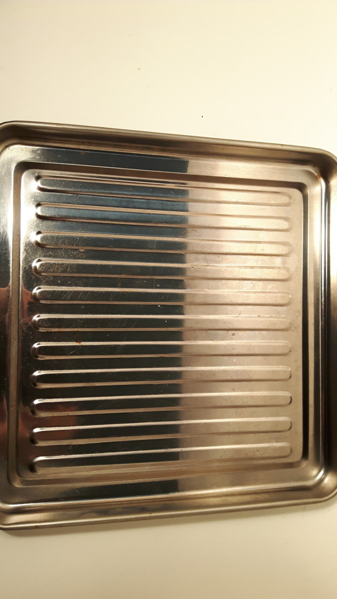 This is the tray from my toaster oven.
