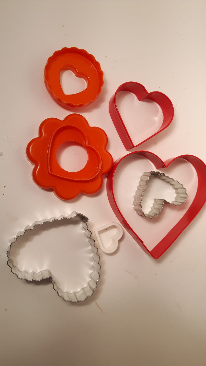 Choose your cookie cutters.