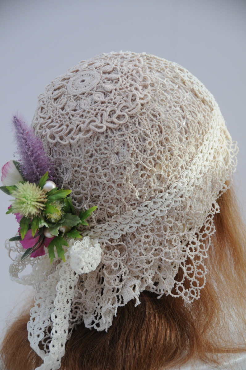 How to Make a Flapper Wedding Cap