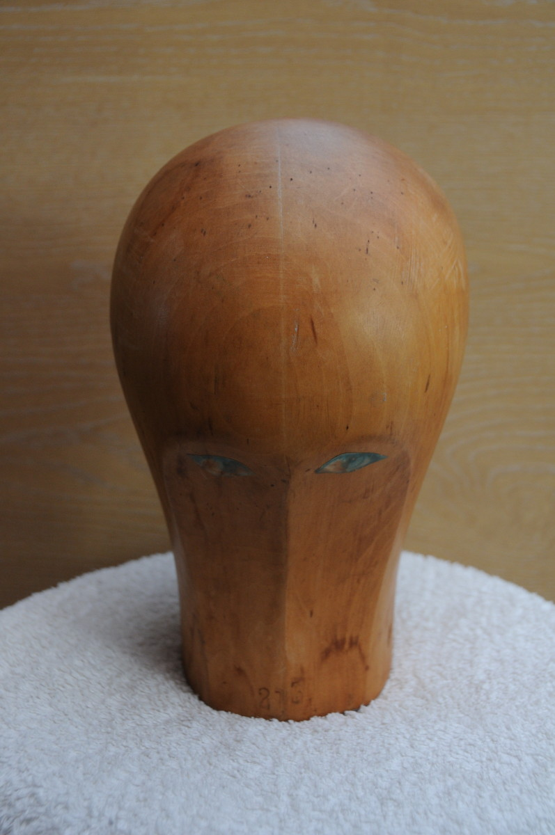 Wooden Hat Block